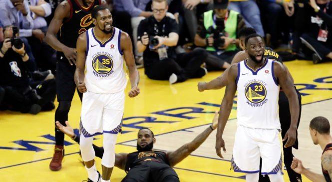 NBA Finals: LeBron James na bagenzi be batsinzwe umukino wa mbere
