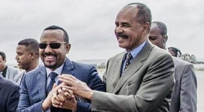 Ethiopia mu myiteguro yo kwakira Isaias wa Eritrea