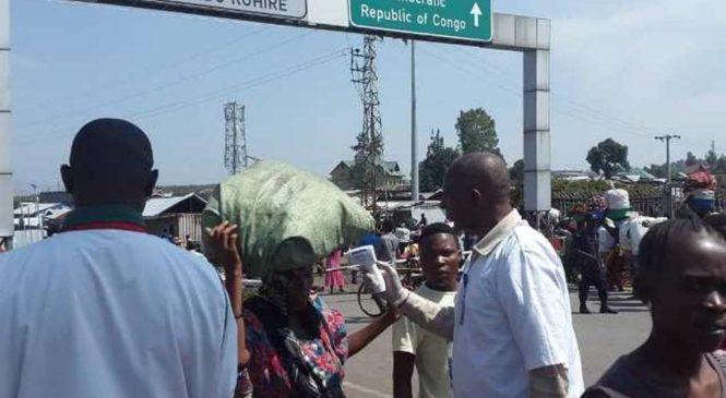 Hari gupimwa Ebola abanye Congo ( DRC ) binjira mu Rwanda