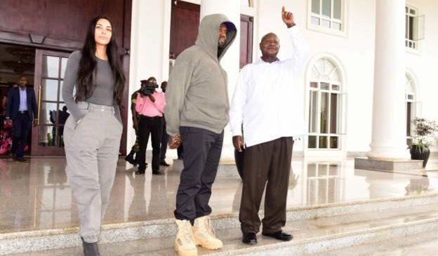 Kanye West na Kim Kardashian bahawe amazina y'Amagande
