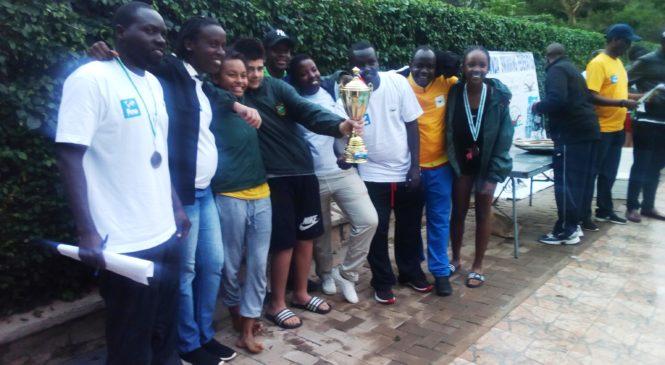 Green Hills Academy yakiriye imikino yo kwoga yegukana umwanya wa mbere.