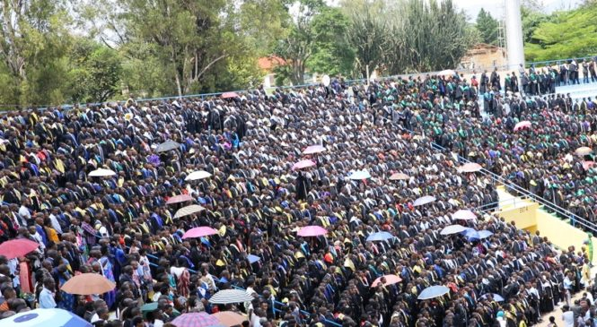 Kaminuza y'u Rwanda ku nshuro ya 5 yatanze impamyabumenyi