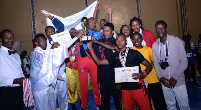 Rwandan Chin Woo Wushu Kung-fu Club nk'ishuri rikomeje kugaragaza ko Kung-Fu ari umukino waguteza imbere mugihe wa wukina neza.