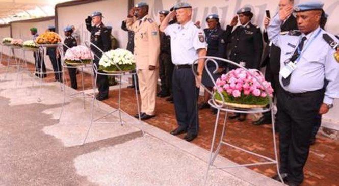 Abayobozi b'imitwe ya Polisi ishinzwe kugarura amahoro basuye urwibutso rwa Jenoside rwa Kigali