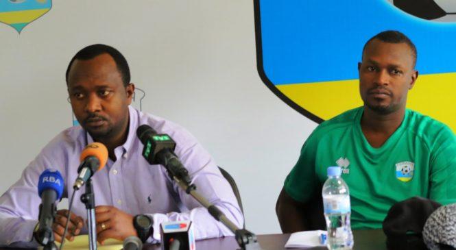 Mashami Vincent (umutoza mukuru) na Seninga Innocent (Umutoza wungirije) bahamagaye ikipe y'igihugu izakina na Seychelles.