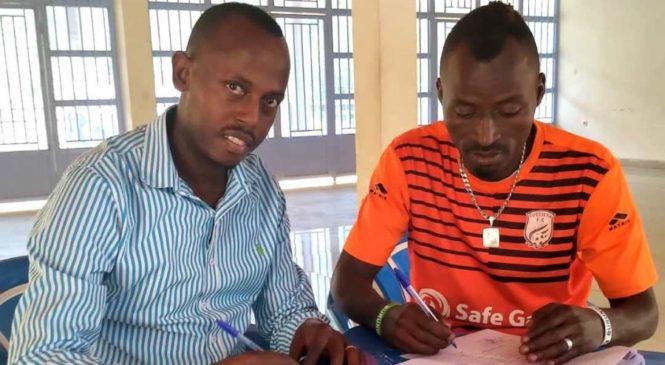 Shaban Hussein Tshabalala wakunzwe na bareyo yasinyiye Bugesera Fc umwaka umwe.
