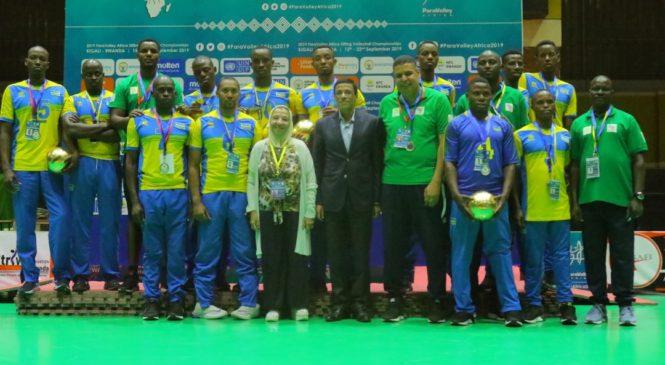 Irushanwa rya Para Volley Africa ryaberaga mu Rwanda ryarasojwe ntacyahindutse ku makipe ahagararira umugabane w'Afurika