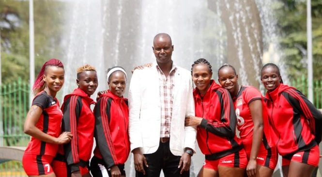 Paul Bitoki yafashije Kenya mu bagore gutsinda Cameroon seti 3-1 begukana umwanya wa mbere.