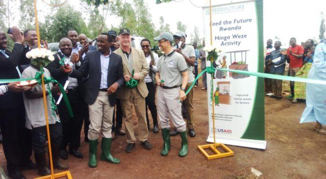 Hinga Weze iteza imbere ubuhinzi bwo mu Rwanda bugashobora guhangana n'ihindagurika ry'ibihe