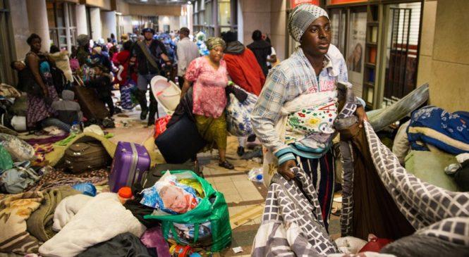 I Cape Town muri Afurika yepfo Impunzi zirimo Abanyarwanda zakubiswe karahava
