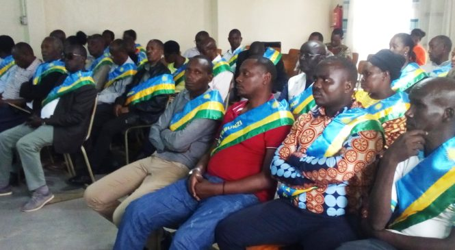 Muhima:Abunzi bahawe ishimwe na Minisitiri w'ubutabera ku mikorere yabo myiza.