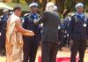 Abapolisi b'u Rwanda bari muri Centrafrica bambitswe imidari y'ishimwe na UN