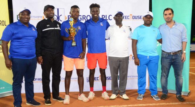 RwandaOpen 2019 muri Tennis yatwawe na Changawa Ismael uturuka muri Kenya