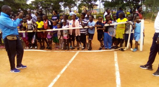 Gushakisha impano mu bana bakina Tennis byasojwe kuri iki cyumweru