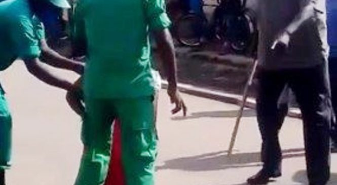 Mu Karere ka Musanze gitifu na ba DASSO bakubise abaturage bafunguwe by'agateganyo
