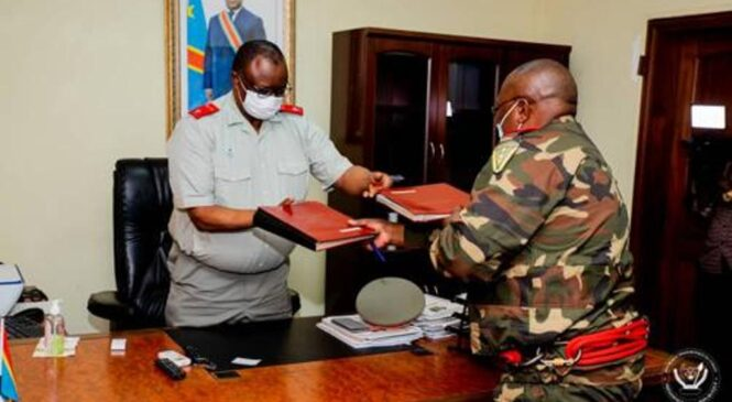RDC :General major Franck Mualunda niwe muyobozi mushya ushinzwe abasirikari barinda umukuru w'igihugu