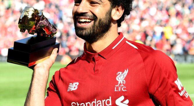 Mohamed Salah yaciye amarenga ko nta gitekerezo cyo kuva muri Liverpool afite