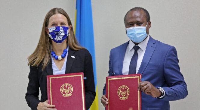 U Rwanda rwasinye amasezerano ya miliyari 605 na USAID