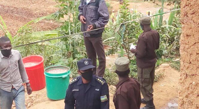 Mu karere ka Gasabo Ubuyobozi bwahagurukiye inzoga z'ibikwangari nyuma yo gufata litiro 600 zayo