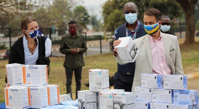 Inkunga ihwanye na miliyoni 131 yo kurwanya covid 19 yatanzwe na Leta Zunze Ubumwe z'Amerika