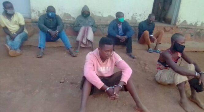 Mu karere ka Gasabo Polisi yafashe Insoresore zatezaga umutekano mucye