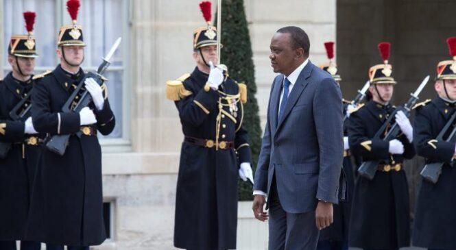 France: Perezida wa Kenya muri France kurangiza amasezerano y'ingenzi mu Bukungu