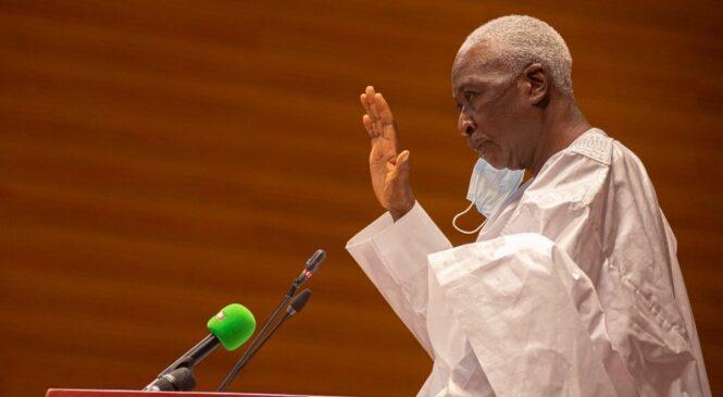 Mali: Umukuru w'igihugu w'inzibacyuho Bah N'Daw yarahiye