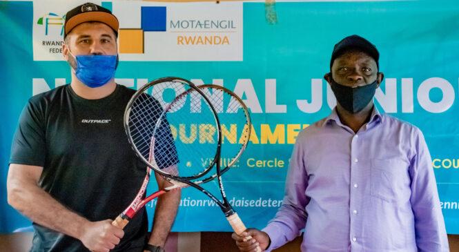 Mota-Engil Rwanda yiteguye gukomeza gutera inkunga amarushanwa ya Tennis