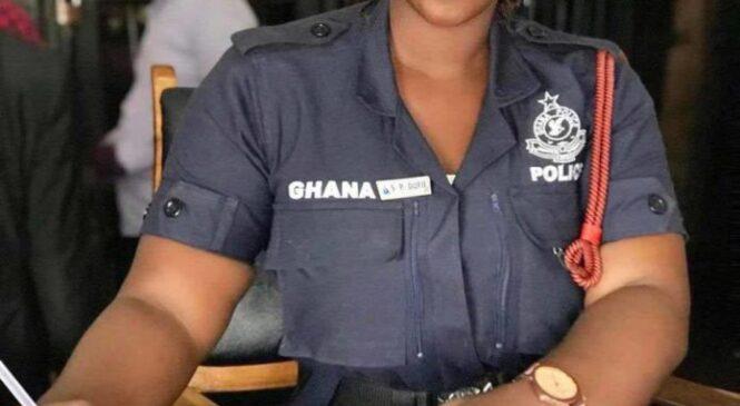 Amafoto ya Ama Serwaa, Umupolice wo muri Ghana agaragaza ubwiza bwe