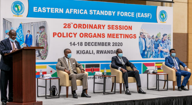 U Rwanda rwakiriye inama ya 28 ya EASF yiga ku kurwanya iterabwoba