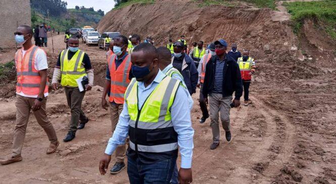 Hatangiye gukorwa ibilometero 93 by'imihanda muri Nyabihu bizatwa miliyari 16 z'amanyarwanda