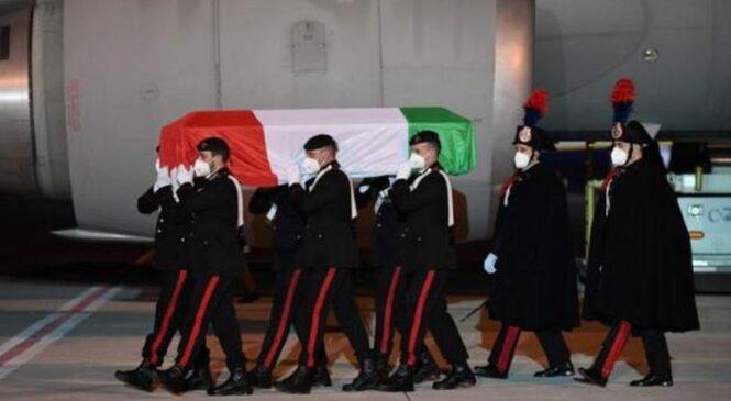 Luca Attanasio: Umurambo w'Ambasaderi w'Ubutaliyani wagejejwe i Roma