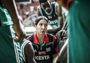 Umugore Liz Mills utoza ikipe ya Kenya y'abagabo yayigejeje mu irushanwa rya FIBA rikomeye