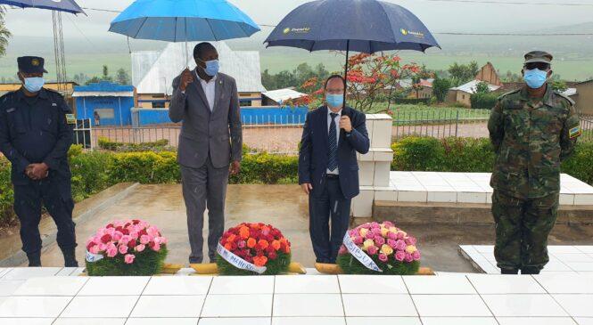 Ambasaderi wa Israel mu Rwanda yasabye urubyiruko guharanira ko Jenoside itazongera kubaho ukundi