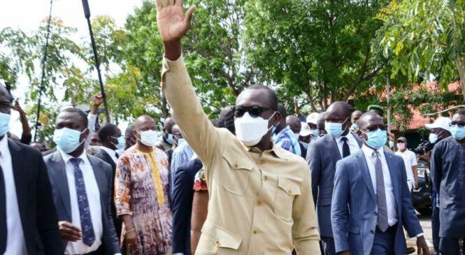 Perezida wa Bénin Patrice Talon yongeye gutorwa n'amajwi 86%