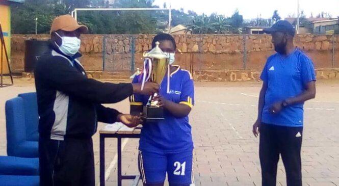 Handball Challenge Trophy:UR Huye mu bakobwa batwaye igikombe