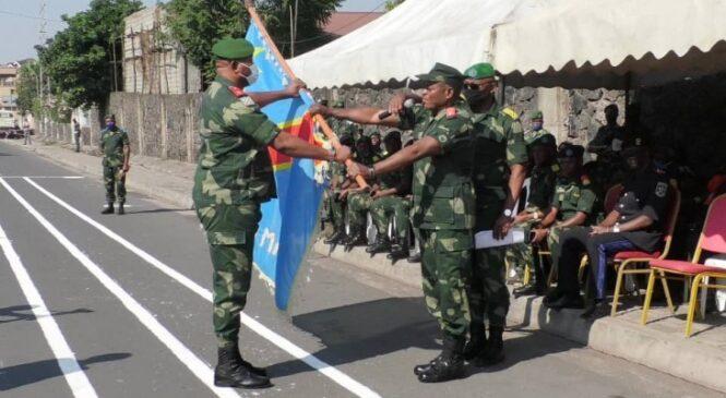 Nord-Kivu : General Tshinkobo Mulamba Ghislain yatangiye imirimo ye muri batayo ya 34