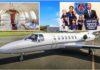 Sergio Ramos yaguriye Private Jet umugore we ya £1.7m