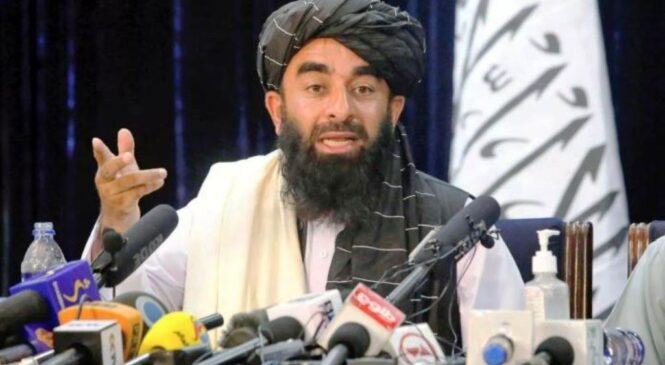 Zabihullah Mujahid, umuvugizi w'aba Taliban w'amayobera, byarangiye yigaragaje