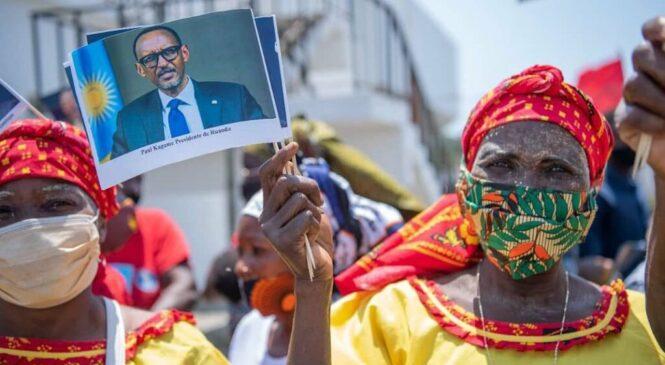 Perezida Kagame yageze muri Mozambique mu ruzinduko rw'iminsi ibiri