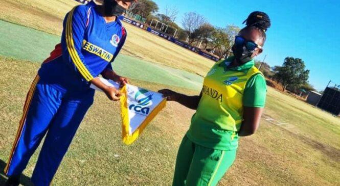 Eswatini yaguye mu maboko y'ikipe y'igihugu y'u Rwanda muri Cricket