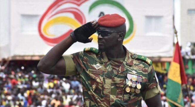 Guinée: Mamady Doumbouya  ararahira nka President