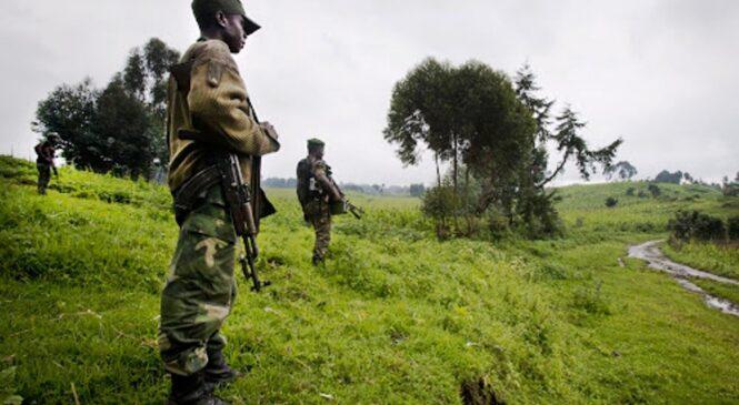 Ingabo za FARDC zirashinja iz'u Rwanda kwinjira ku butaka bwa DR Congo bakarasana